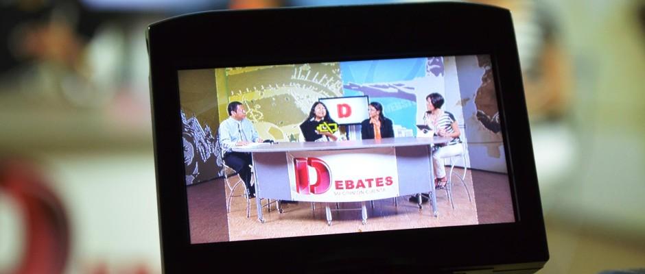 """Programa """"Debates"""". Miércoles, 6:30 p.m. (En directo)"""